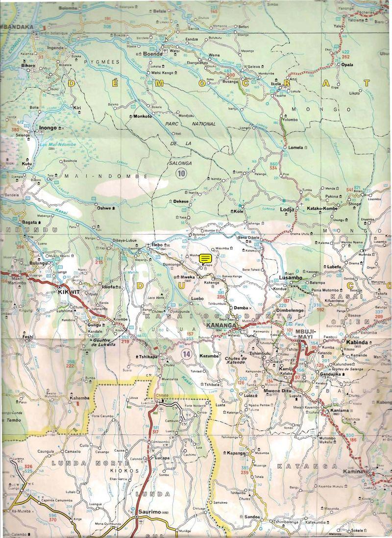 Bulape Map