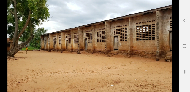 Classroom building for the secondary students