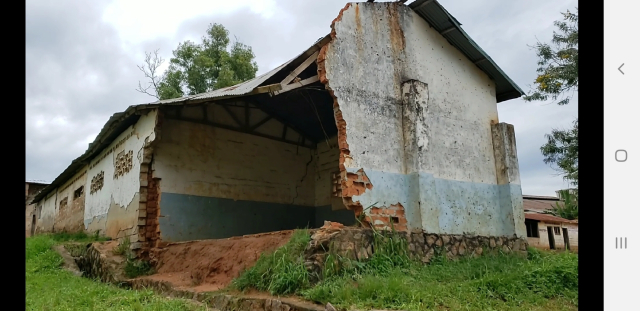 Erosion Washed Away a Classroom